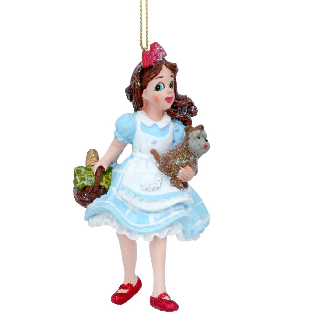 Dorothy & Toto from The Wizard of OZ Bauble - 10cm x 7cm x 5cm