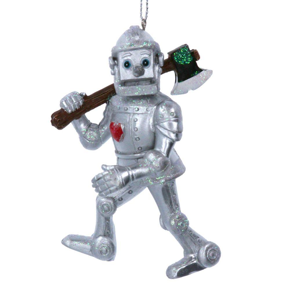 The Wizard of OZ Tin Man Bauble - 10cm x 6cm x 7cm