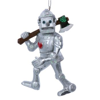 The Wizard of OZ Tin Man Bauble - 10cm x 6cm x 7cm