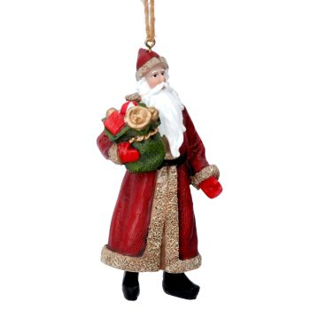 Nostalgic Santa with Sack