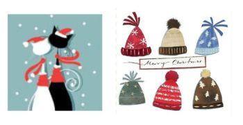 Winter Hats & Festive Friends Twin Pack