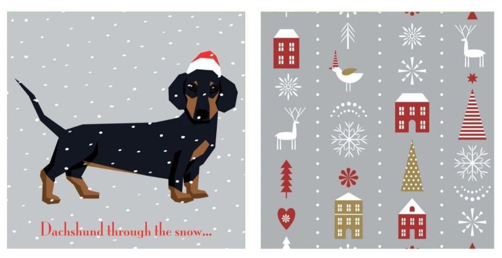 Dachshund through the Snow & Contemporary Christmas