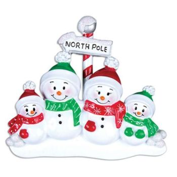 North Pole Family of Four