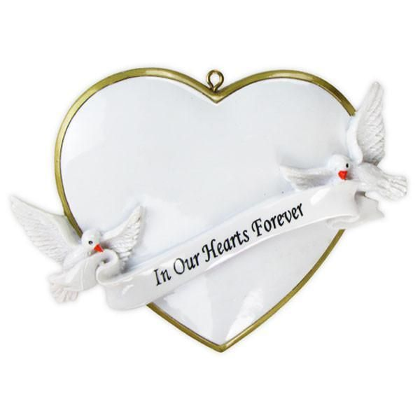 In Our Hearts Christmas Forever Personalised Christmas Decoration Christmas