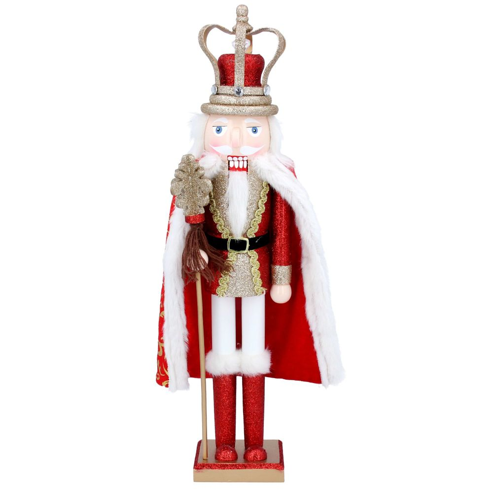 King Nutcracker with Fur Coat
