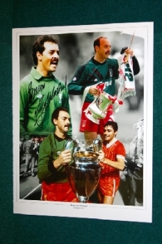 Bruce Grobbelaar Signed 16x12 Photo