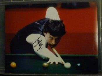 Jimmy White Signed 12 x16 Photograph