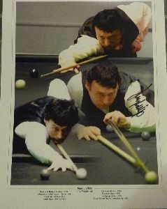 Jimmy White Signed 12X16 Montage
