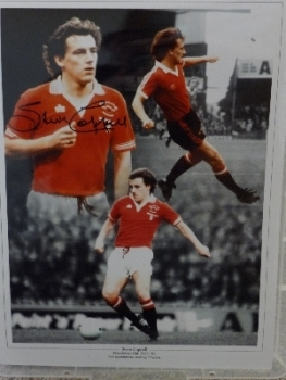 Steve Coppell signed 12x16 photograph. New Montage
