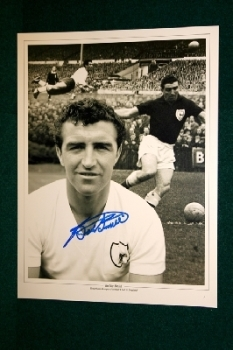 Bobby Smith Hand Signed 16x12 Photo Montage