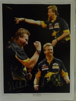 Simon Whitlock Signed photograph