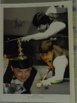 John Parrott Signed Photograph