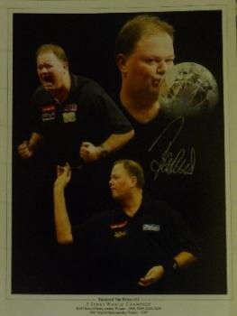 Raymond Van Barneveld Signed photograph