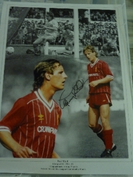 Paul Walsh Signed liverpool Photograph