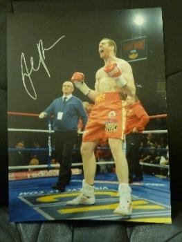 David Price Signed 12x16 Photograph B