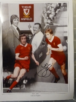 Joey Jones Signed Liverpool 12x16 Photograph