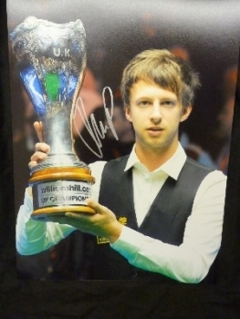 Judd Trump Signed 12x16 Photograph B