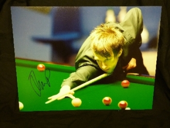 Judd trump Signed 12x16 Photograph C