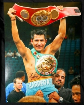 Marco Antonio Barrera Signed 12x16 Photograph
