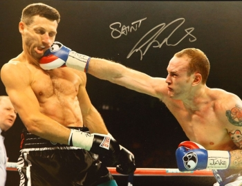 George Groves vs Carl Froch Signed 12x16 Photograph