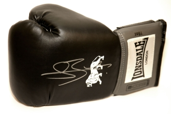Connor Benn Hand Signed Black Lonsdale Boxing Glove