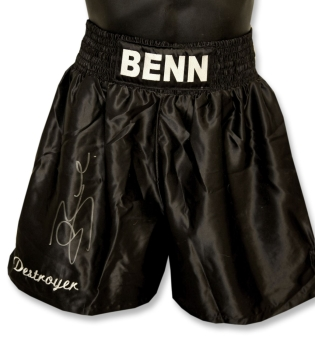 "Connor Benn ""Destroyer"" Signed Custom Made Boxing Trunks"