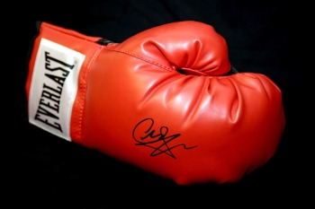 Carl Froch Hand Signed Red Everlast Boxing Glove
