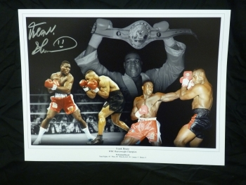 Frank Bruno New 12x16 Montage Photograph
