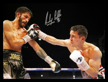 Anthony Crolla Hand Signed 12x16 Boxing Photograph : B