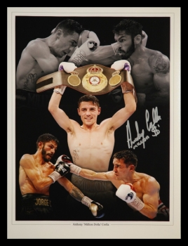 Anthony Crolla Hand Signed 12x16 Boxing Photograph : A