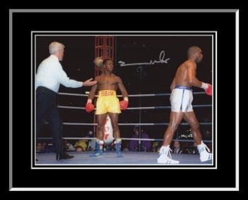 New Chris Eubank Signed And Framed Boxing Photograph B