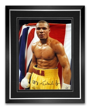 *New* Chris Eubank Jr Signed And Framed Boxing Photograph : D