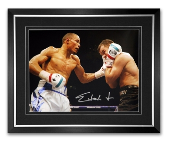 *New* Chris Eubank Jr Signed And Framed Boxing Photograph : C