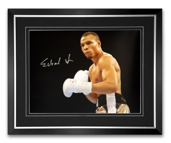 *New* Chris Eubank Jr Signed And Framed Boxing Photograph : A