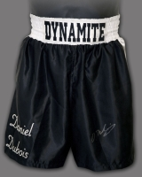 Daniel Dubois Hand Signed Custom Made Boxing Trunks