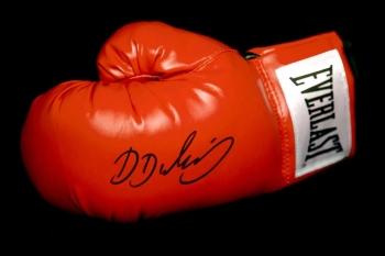 Daniel Dubois Hand Signed Red Everlast Boxing Glove.