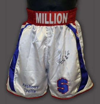 Anthony Crolla Hand Signed Custom Made Boxing Trunks :