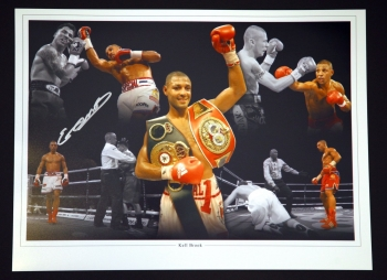 Kell Brook  Signed 12x16  Boxing Montage Photograph