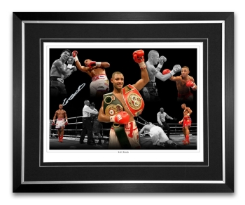 Kell Brook Signed And Framed Boxing Montage