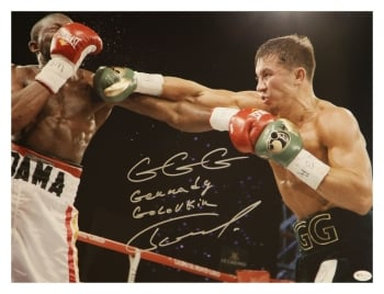 *Rare* Gennady Golovkin  Signed Boxing  Large Photograph: Online Authentics