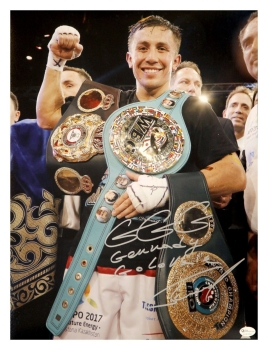*Rare* Gennady Golovkin  Signed Boxing  Large Photograph: Online Authentics : B