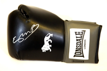 Kell Brook Hand Signed Black Lonsdale Boxing Glove.