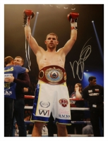 Billy Joe Saunders Signed Boxing Large Photograph : D