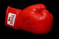 Billy Joe Saunders Signed Red Autograph Boxing Glove.