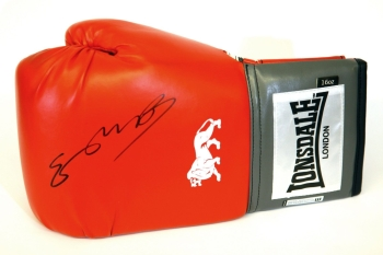 Kell Brook Hand Signed Red Lonsdale Boxing Glove.