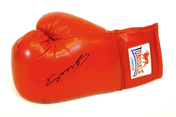 Kell Brook Hand Signed Red Autograph  Lonsdale Boxing Glove.