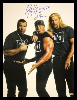 Hulk Hogan Signed Huge 20x16 WCW New World Order Wrestling Photograph