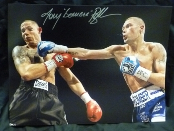 Tony Bellew Signed 12x16 Boxing Photograph C