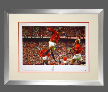 *New* Ruud Van Nistelrooy Manchester United Signed Photograph In A Frame : C