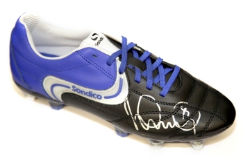 Ian Wright  Arsenal Hand Signed Sondico Football Boot